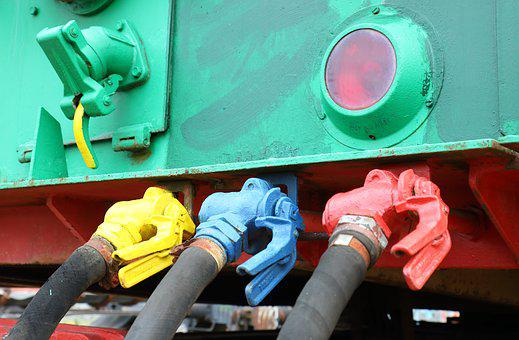 Train, Transport, Valves, Color Coded, Surface, Mining