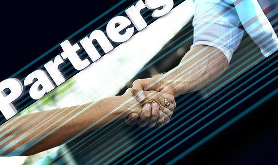 Handshake, Hands, Partner, Businessmen, Team