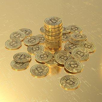 Bitcoin, Money, Cryptocurrency, Blockchain, Virtual
