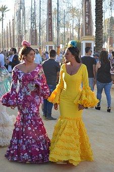 Andalucia, Spain, Jerez De La Frontera, Journey, Feria