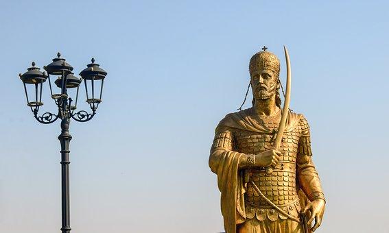 Konstantinos Paleologos, Emperor, Byzantium, Sculpture