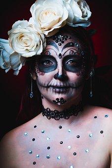 Catrina, Halloween, Death, Skull, Mexico, Celebration