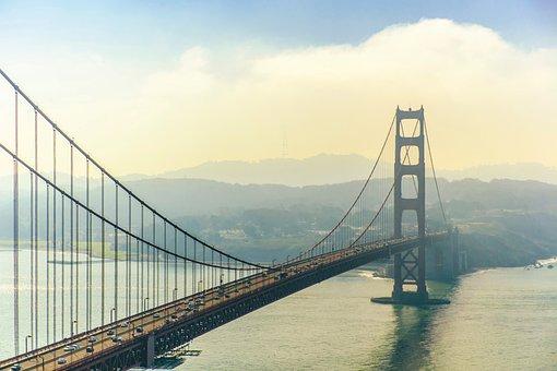 Golden Gate, Golden Gate Bridge, San Francisco