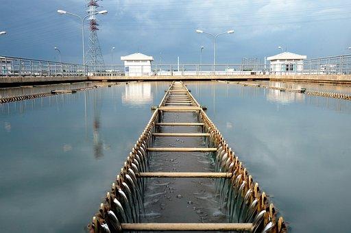 Sedimentation Basin, Treated Water Plant, Thuduc