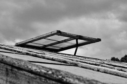 Window, Black, White, Light, Studio, Architecture, Dark