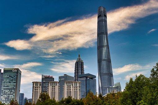 Skyline, Skyscraper, Building, Architecture
