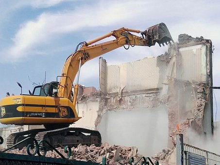 Scraper, Works, Building, Excavator, Work, Vehicle
