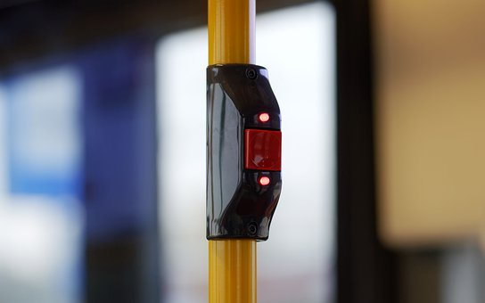 Button, Red, Electric, Leds, The Bus, Interior, Order