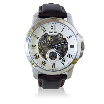 Gents, Fossil Grant, Automatic Dress Watch, Watch, Time