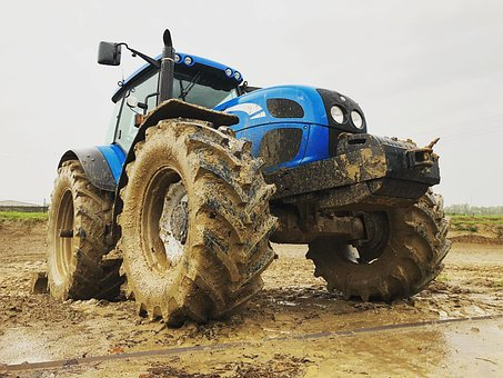 Tractor, New Holland, Agriculture, Wheel, Machine