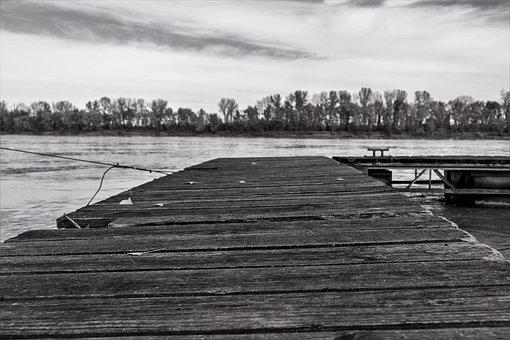 Wood, Dock, Pier, Water, Nature, Sky, Lake, Wooden