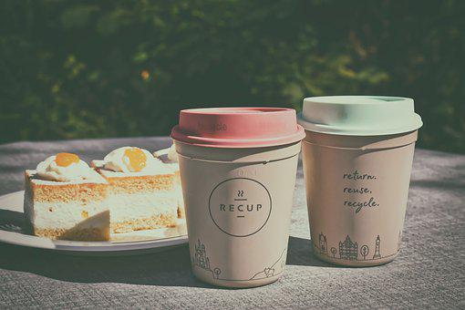 Recup, Coffee To Go, Plastic Cups, Coffee Mugs