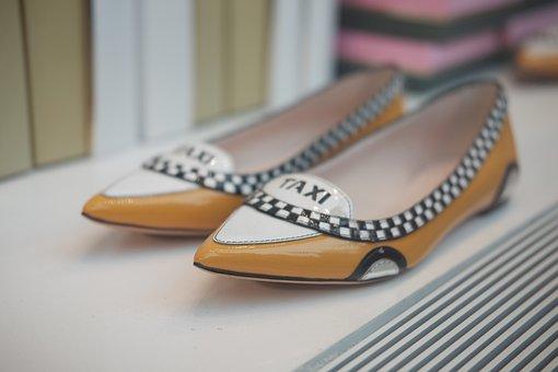 Taxi, Shoes, Fashion, Woman, Casual, Feet