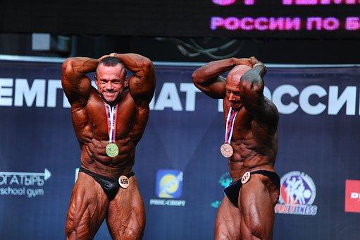 Body-building, Gold, Bronze, Silver, Championship