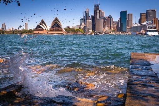Sydney, Australia, Opera, Skyline, Panorama