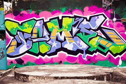Graffiti, Spray, Paint, Creativity, Mural, Artwork