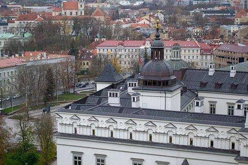 Lithuania, Vilnius, Capital, City, The Historic Centre