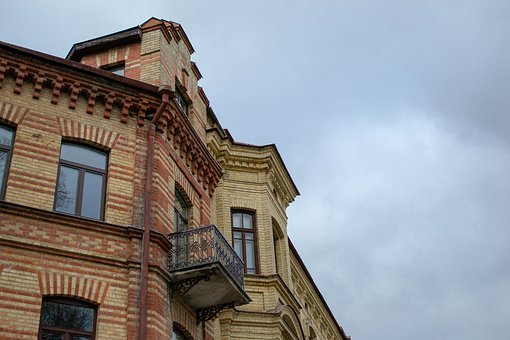 Lithuania, Vilnius, City, Capital, Old, Building