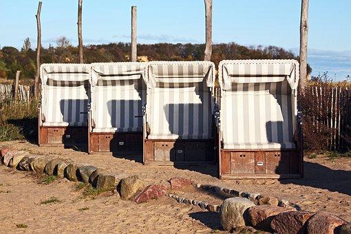 Clubs, Vacations, Rügen Island, Beach, Baltic Sea, Sand