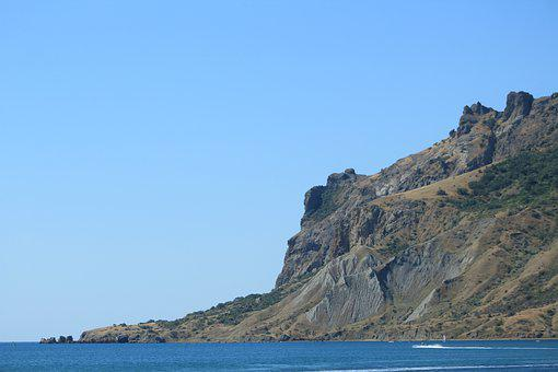 Crimea, Sea, Vacation, Coast, Mountain, Landscape, Sky