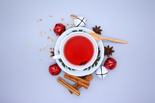 Tea, Christmas, Decoration, Holiday, Cozy, Cup, Winter