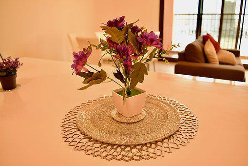 Home, Flower, Table, Counter, Interior, Lifestyle
