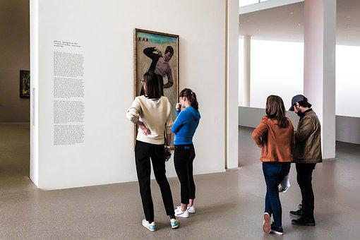 Museum, Exhibition, Gallery, Art, Visitors, Observer