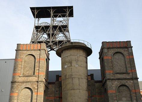 Belgium, Beringen, Coal, Mine, Abandoned, Mining