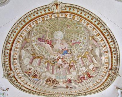 Painting, Church Room, Maria Himmmel Travel, Trinity