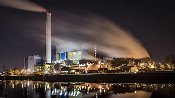 Power Plant, Waste Incineration, Pollution