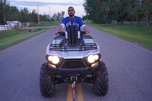 Atv, Male, On-road, Motocross, Quad, Person, Outdoor