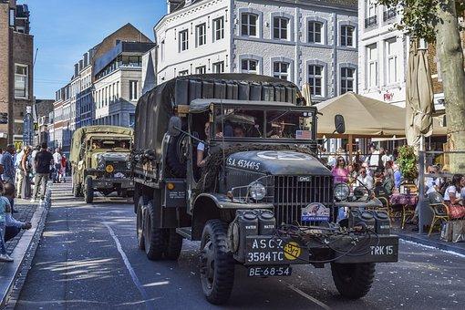 Auto, Military, Vehicle, Army, War, Automotive