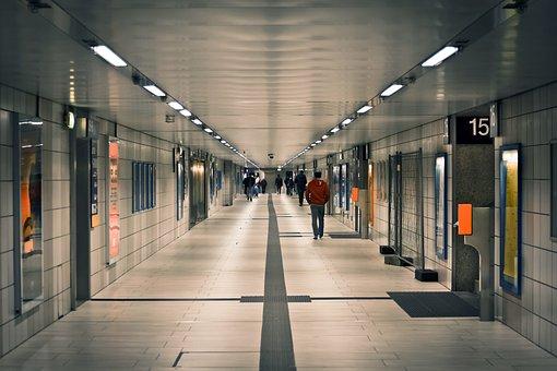 Architecture, Gang, Building, Inner Hallway, Light