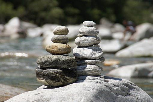 Cairn, Bach, On The Go, Lonely, Shaky, Balance, Bank