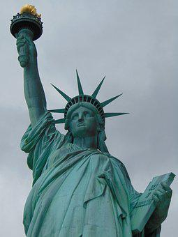 Freedom, Statue Of Liberty, Landmark, Travel, City, Usa