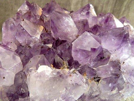 Amethyst, Violet, Crystal Cave, Druze, Gem Top