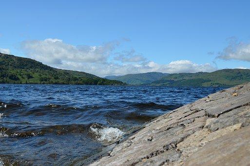 Hole Kathrin, Lake, Scotland, Water, Landscape, Nature