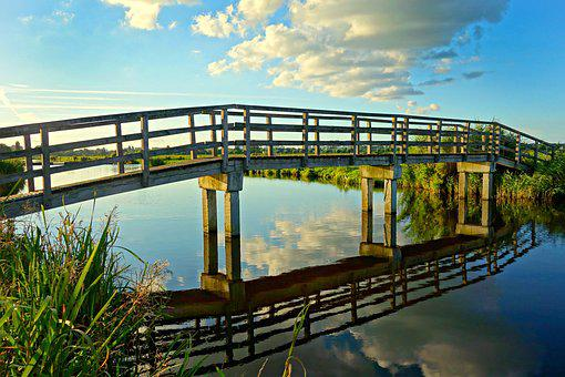 Bridge, Foot Bridge, Construction, Structure, Man Made