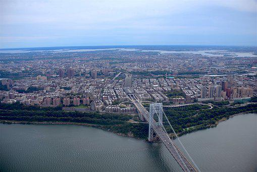 George Washington Bridge, New York City, City, Bridge
