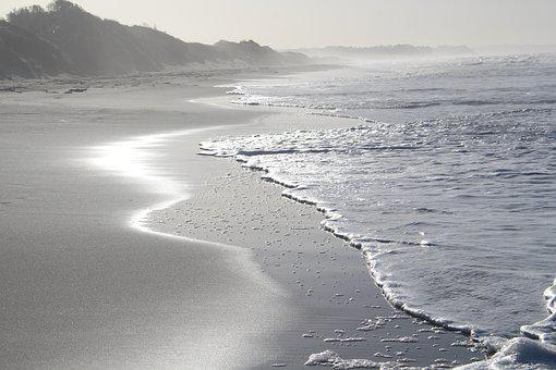 Beach, Sea, New Zealand, Opotiki, North Island