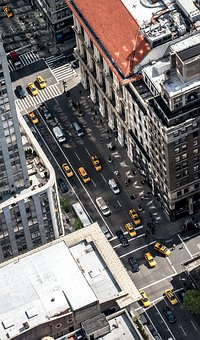 Usa, New York, New York City, Nyc, Skyscraper, Skyline