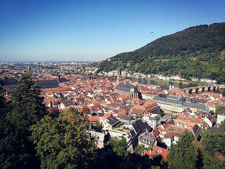 Heidelberg, Neckar, City, Germany, Beautiful, Old