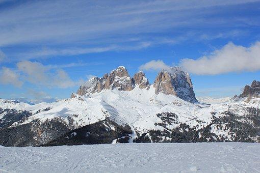 Canazei, Ski, Sella Ronde, Overview, Canazei Ski, Italy