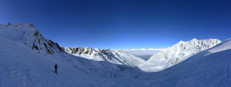 Winter, Mountain, Panorama, Travel, Cold, Ski, Alps