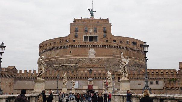 Castel Sant'angelo, Italy, Rome, Castello Sant Angelo
