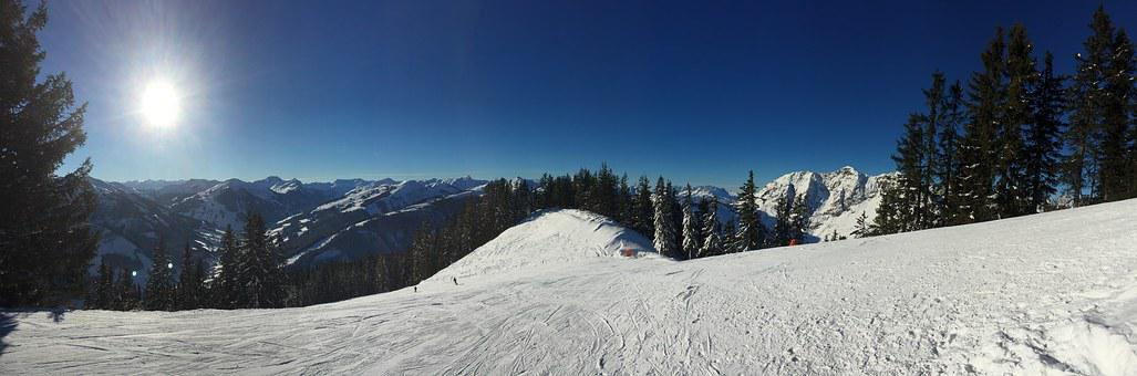 Saalbach, Sunshine, Overview, Canazei, Ski, Italy