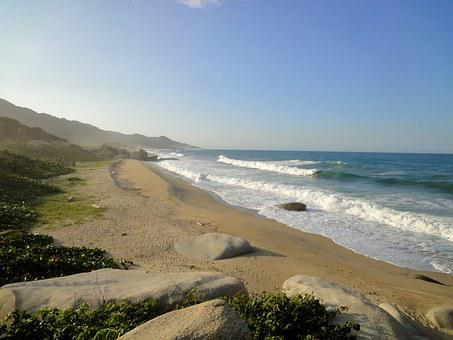 Parque Tayrona, Beach, Santa Martha, Sea, Rest