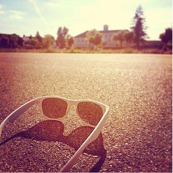 Glasses, Sun, Sunglasses, See, Sharpness, Summer