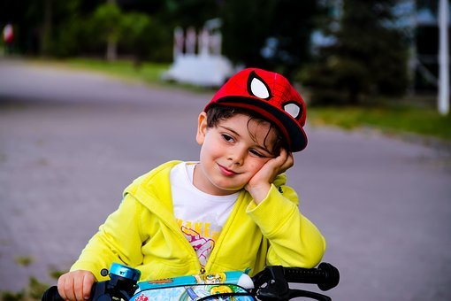Child, Bicycle, Baby, Sweet, The Innocence, Sleep