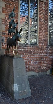 Bremen, Marketplace, Town Musicians, Places Of Interest